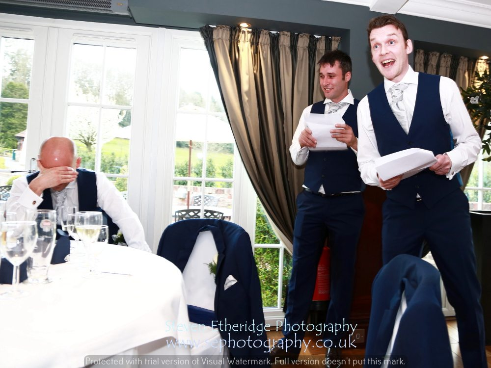 Hampshire Wedding Photography - best men's speech