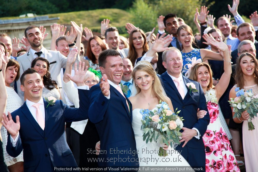 Surrey Wedding Photographer - group photo