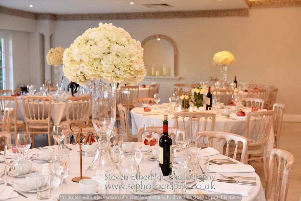 Hampshire Wedding Photographer - Froyle Park Grand Ballroom