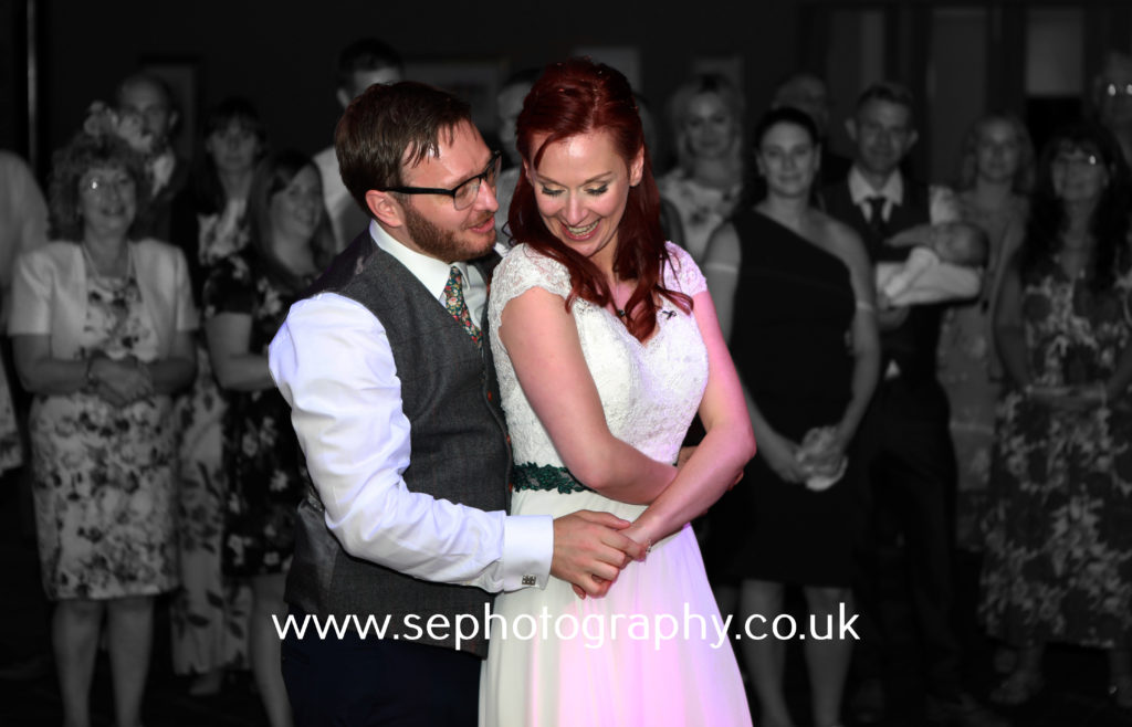 Surrey Wedding Photographer - first dance